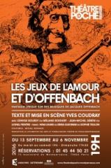 théâtre,musique,théâtre de poche-montparnasse,offenbach,yves coudray