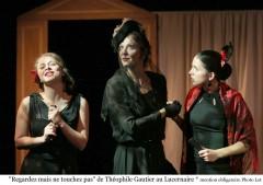 Théâtre, littérature, Lucernaire, Penchenat, Gautier, Hugo