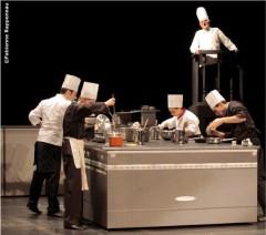 Théâtre, Humour, cuisine, vingtième théâtre,