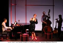 Théâtre, musique, chansons, cabaret, Isabelle Georges, Théâtre La Bruyère
