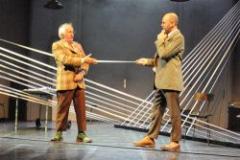 Théâtre, humour,  théâtre du Rond-point, Daniel Cabanis, J. Bonnaffé, O. Saladin