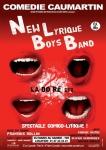 Théâtre, Musique, Humour, Comédie-Caumartin, New Lyrique Boys band