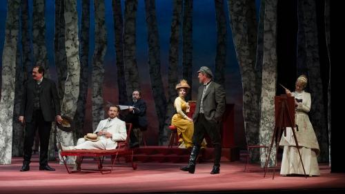 Comédie-Française, Les Estivants, Théâtre, Gorki