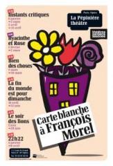 François Morel, Théâtre de la Pépinière, humour
