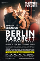 Théâtre, théâtre de Poche, cabaret, musique, stéphene Druet, Marisa Berenson
