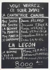 théâtre de la huchette,bnf