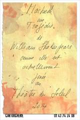 Théâtre, Théâtre du Soleil, Ariane Mnouchkine, Shakespeare