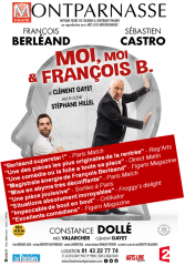 Théâtre, Théâtre Montparnasse, François Berléand