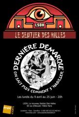 Théâtre musical, Sentier des halles, Anne Thomas, Marion Lépine, Aurore Boston