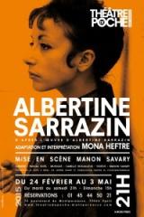 Théâtre, poche-montpanasse, poésie, littérature, Albertine Sarrazin, Mona  Heftre, Manon Savary