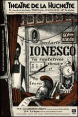 Théâtre, Théâtre de la Huchette, Ionesco