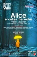Théâtre, littérature, Lewis Carroll, Emmanuel Demarcy-Mota, Fabrice Melquiot