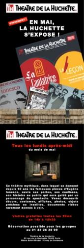Théâtre, Ionesco, littérature, expo